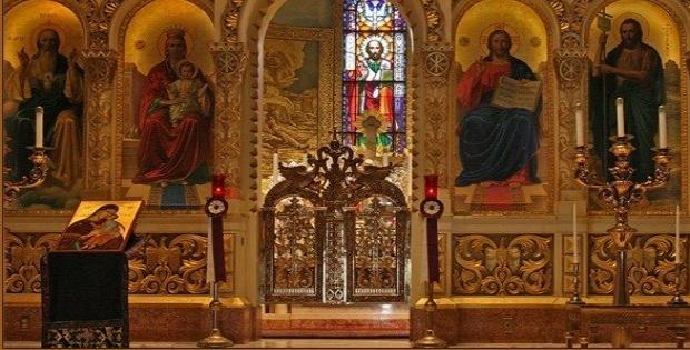 За царските двери во Литургијата