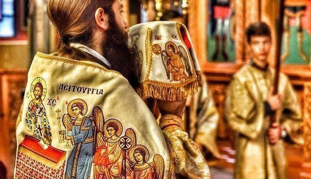 За значењето на бојата на свештените одежди